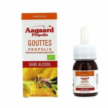 Gouttes Propolis Sans Alcool - 30ml - Aagaard Propolis