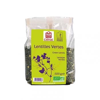 Lentilles Vertes Bio - 500g