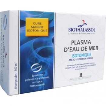 Plasma d'eau de mer Isotonique - 30 ampoules de 10ml - BIOTHALASSOL