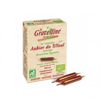 Aubier de Tilleul Sauvage Bio - 30 Ampoules de 10ml - La Gravelline