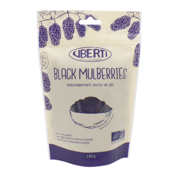 Black mulberries (morus nigra) bio