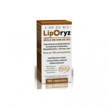 LipOryz Huile de Son de Riz - 100 Gélules - LT Labo