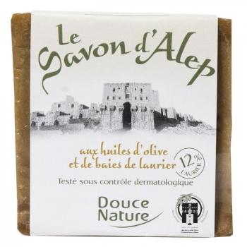 DOUCE NATURE - Savon d'Alep 12% Laurier 80% Olive 200g