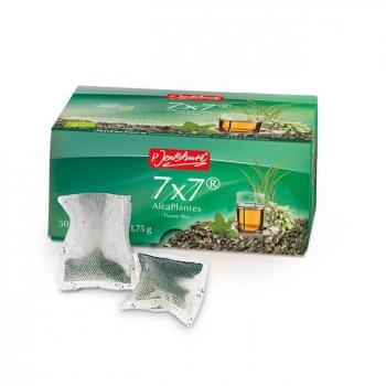 7x7 AlcaPlantes - 50 sachets filtres - P. Jentschura