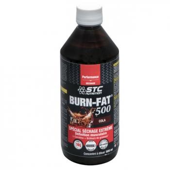 STC NUTRITION - Burn Fat 500 Cola - Sèche et Musculation - 500ml