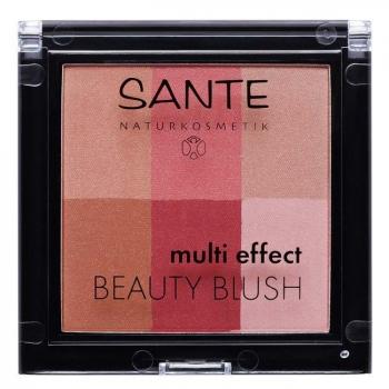 SANTE NATURKOSMETIK - Blush multi effets Cranberry n°02 Bio 8g - Eclat du teint