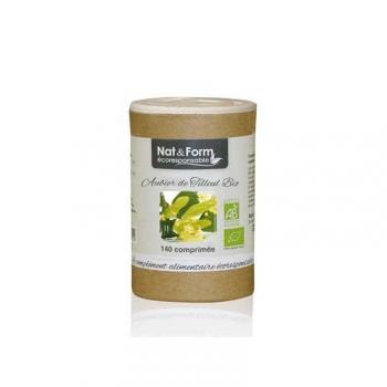 Aubier de Tilleul Bio Eco Responsable - Draineur -140 comprimés