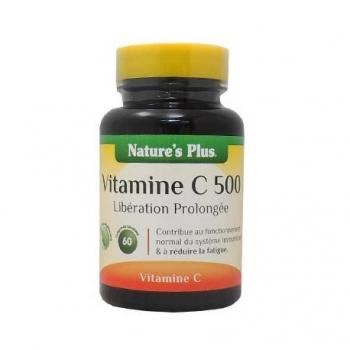 Vitamine C 500 - 60 Comprimés - Nature's Plus