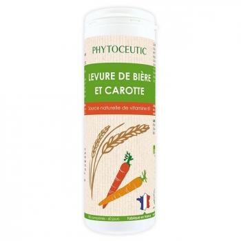 PHYTOCEUTIC  - Levure de Bière et Carotte Eclat du teint - 180 comprimés