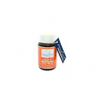 Ester-C 500 + Vit D3 - 60 Gélules - Essence Pure