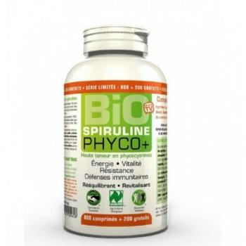 Spiruline Bio Phyco+ - 1000 comprimés - LT Labo