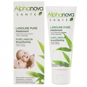 ALPHANOVA - Lanoline pure 100% naturelle - Allaitement - Tube 40ml