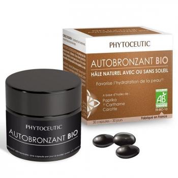 PHYTOCEUTIC  - Autobronzant bio - Hâle naturel - 30 capsules