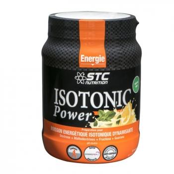 STC NUTRITION - Isotonic Power - Boisson énergétique isotonique Goût Citron - 525g