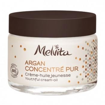 Crème-Huile Jeunesse Argan Concentré Pur 50mL - Melvita