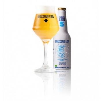Bière Blanche Bio - 33cl - Brasserie Lion
