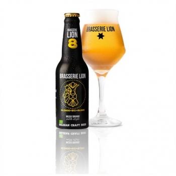 Bière Blonde Bio - 33cl - Brasserie Lion