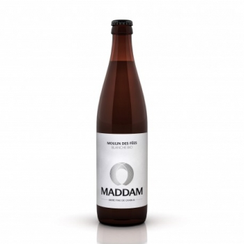 Maddam Bière Blanche Bio - 50cl - Brasserie du Chablis