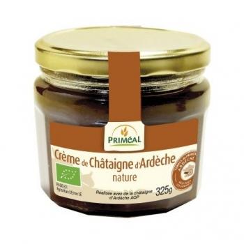 Crème de Châtaigne d'Ardèche AOP Nature - 325g - Priméal