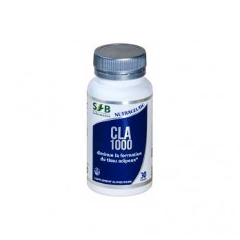 CLA 1000 (Acide Linoléique Conjugué) - 30 capsules - Laboratoires SFB
