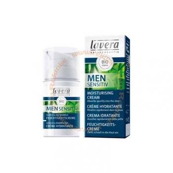Crème Hydratante Men Sensitiv Bio, Vegan - Visage et mains - 30ml