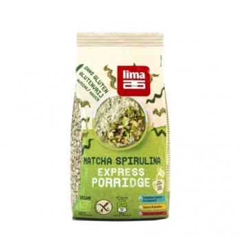 Matcha Spirulina Express Porridge Bio - 350g - Lima