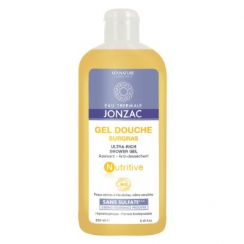 Gel Douche Surgras Nutritive - 500mL - Eau Thermale de Jonzac
