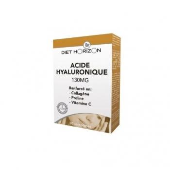 Acide Hyaluronique 130mg - 30 Comprimés - Diet Horizon