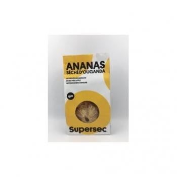 Ananas Séché d'Ouganda - 80g - Supersec