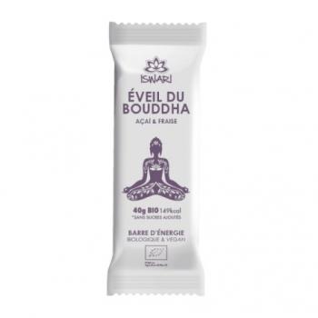 Barre d'Energie Açaï et Fraise Bio - 40g - Eveil du bouddha