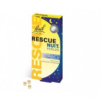 Rescue® Nuit Fleurs de Bach - 14 Perles - Laboratoire Famadem