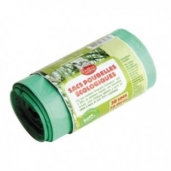 Sacs Poubelles Ecologiques - 30 Sacs - 30L - La Droguerie Ecologique