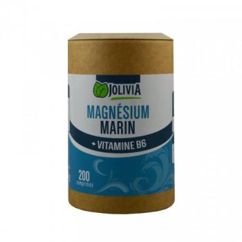 Magnésium Marin et vitamine B6 - 200 comprimés
