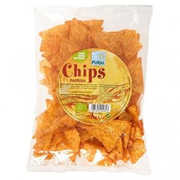 Chips Paprika - 125g-Pural