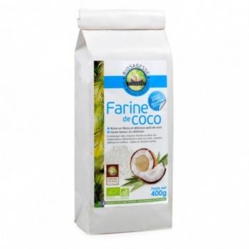 Farine de Coco - 400Gr - Biosagesse Ecoidées