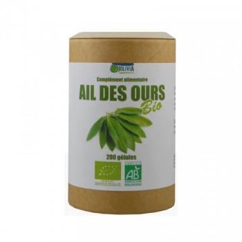 Ail des ours Bio - 200 gélules végétales de 280 mg