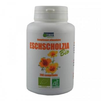Escholtzia (Eschscholzia) Bio - 200 comprimés de 400 mg