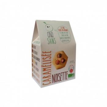 Biscuits noisette caramélisée