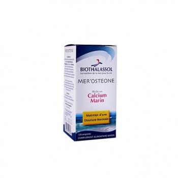 Mer'Osteone Calcium Marin - 60 Comprimés - Biothalassol