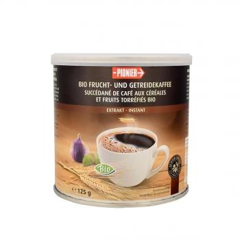 Succédané de café soluble  (aux céréales-fruits-chicorée ) 125g Bio - Pionier