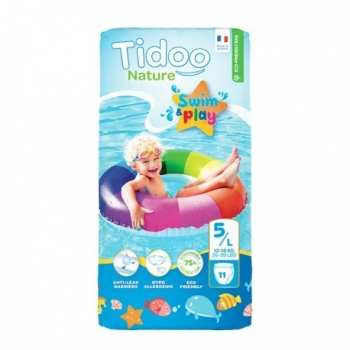 Couches Swim & Play 5L/12-18kg - 11 pièces - Tidoo Nature
