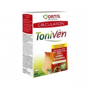 Toniven Circulation - 60 Comprimés - Ortis