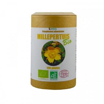 Millepertuis Bio - 200 gélules végétales de 250 mg