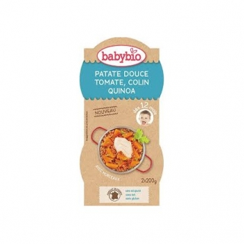 Patate Douce, Tomate, Colin et Quinoa  - 2x200gr - Babybio