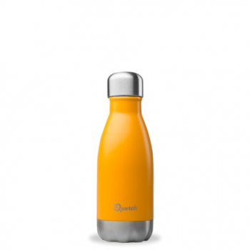 Bouteille Nomade Isotherme Orange - 260ml - Qwetch
