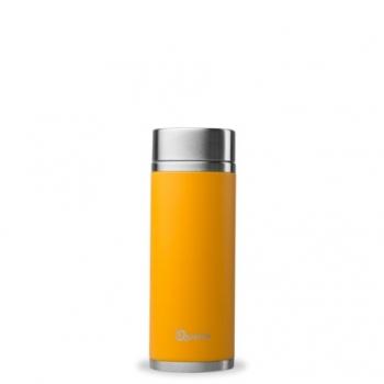 Théière Nomade Isotherme Orange - 300ml - Qwetch
