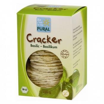 Cracker Basilic Bio - 100gr - Pural