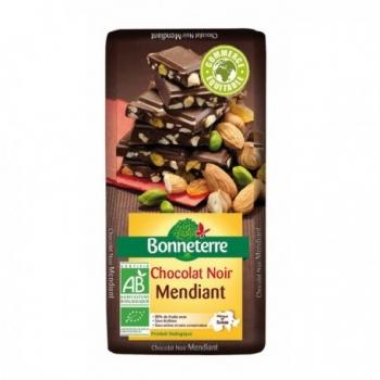 Chocolat Noir Mendiant 100g -Bonneterre