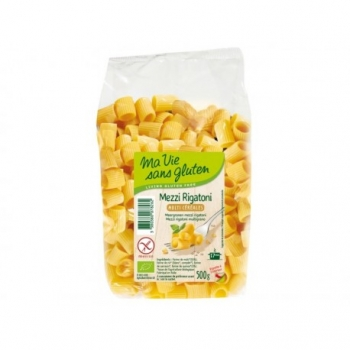 Mezzi Rigatoni Multi Céréales Bio - 500gr - Ma Vie Sans Gluten