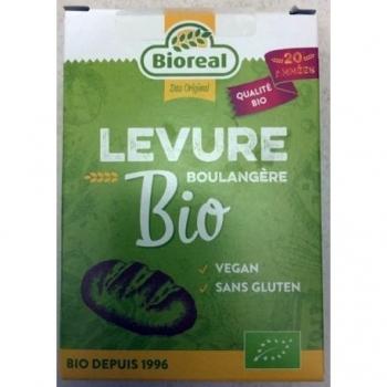 Levure Boulangère Déshydratée 5x9g Bio - Bioreal